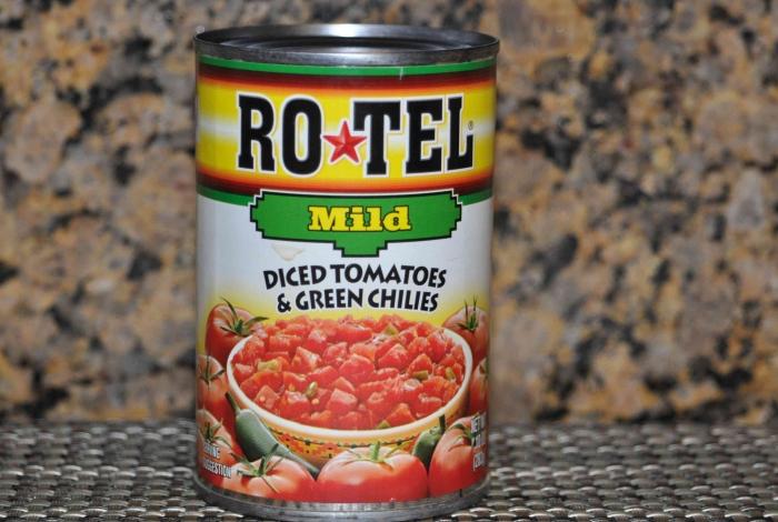 Ro Tel tomatoes