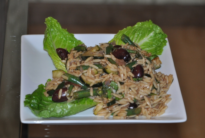 Jenn's Food Journey: Guest Blogger: Orzo Salad with Prawns, Petit